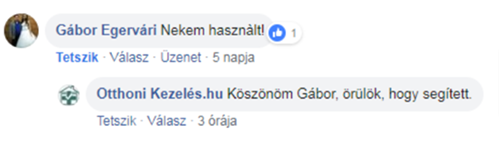Bionette vélemény - Egervári Gábor