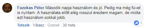 Bionette vélemény - Fazekas Péter