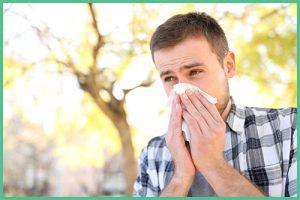 Parlagfű allergia vagy szénanátha kezelése fényterápiával